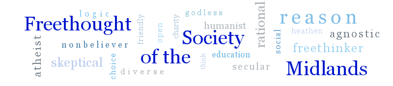 Freethought Society of the Midlands banner